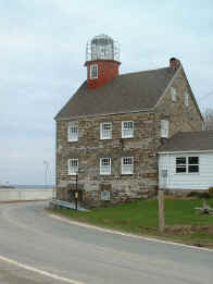 Salmon River light house on Lake Ontario NY